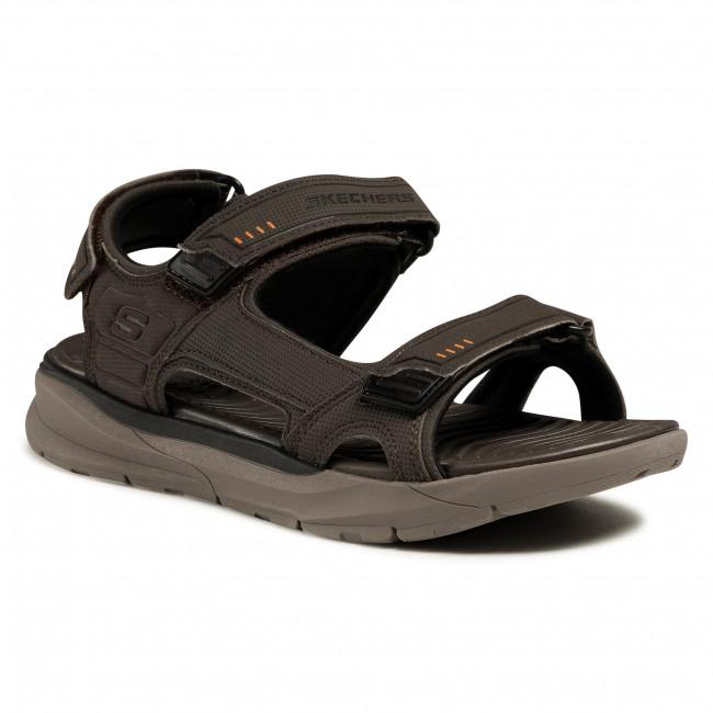 Sandále SKECHERS - Senco 66067/BRN Brown
