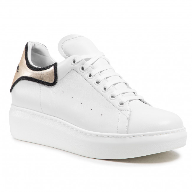 Sneakersy KARINO - 3829/143-P Biały/Złoty