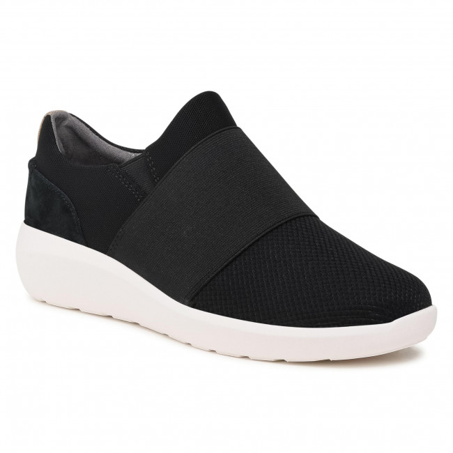 Sneakersy CLARKS - Kayleigh Band 261577254 Black