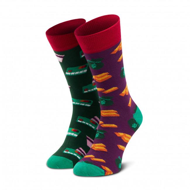 Ponožky Vysoké Unisex DOTS SOCKS - D20WF-SX-018-X-041046 Farebná