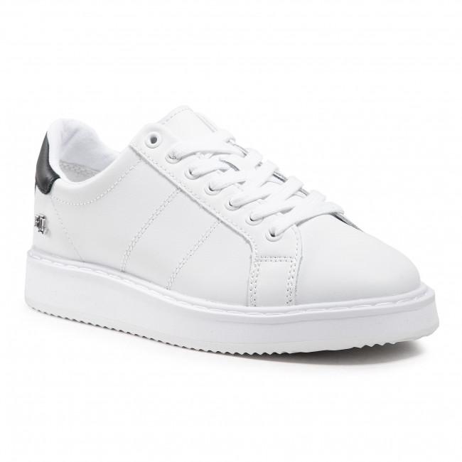 Sneakersy LAUREN RALPH LAUREN - Angeline II 802836456004 White/Navy
