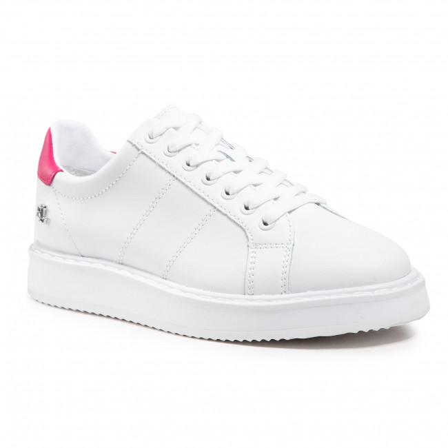 Sneakersy LAUREN RALPH LAUREN - Angeline II 802836456005 White/Pink