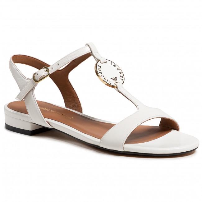 Sandále EMPORIO ARMANI - X3P640 XF438 00001 White