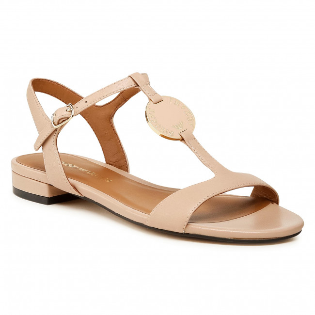 Sandále EMPORIO ARMANI - X3P640 XF438 00867 Skin