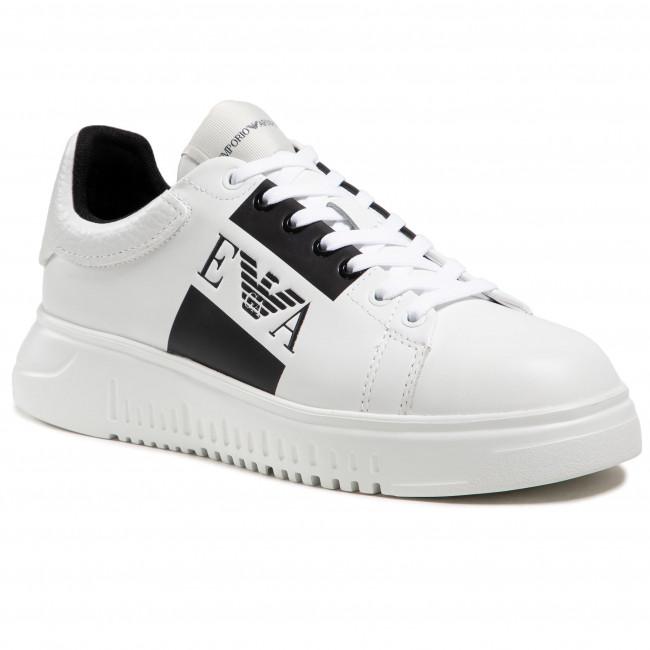 Sneakersy EMPORIO ARMANI - X4X264 XM712 A222 White/White
