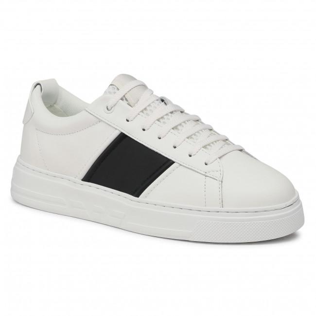Sneakersy EMPORIO ARMANI - X4X287 XM716 N592 Opt.Wht/Blk/Opt.Wht