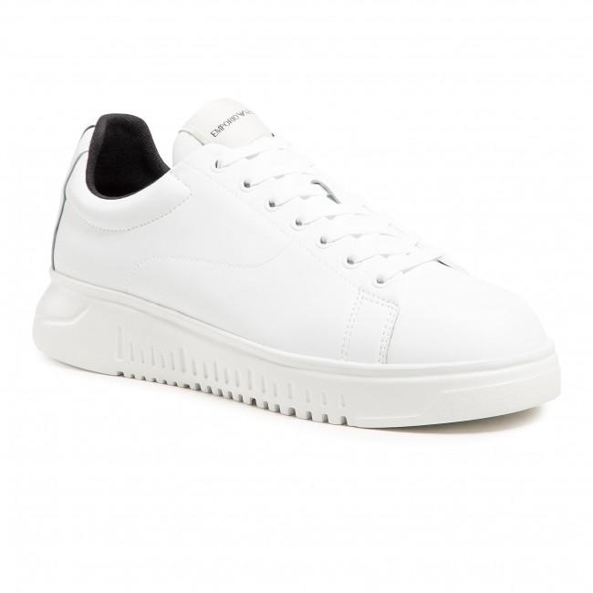 Sneakersy EMPORIO ARMANI - X4X312 XM747 A222 White/White