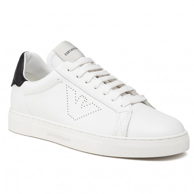 Sneakersy EMPORIO ARMANI - X4X316 XF527 N422 Opt.Wht/Black