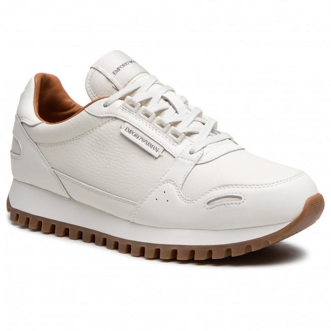 Sneakersy EMPORIO ARMANI - X4X536 XM677 M801 Off White/Off White