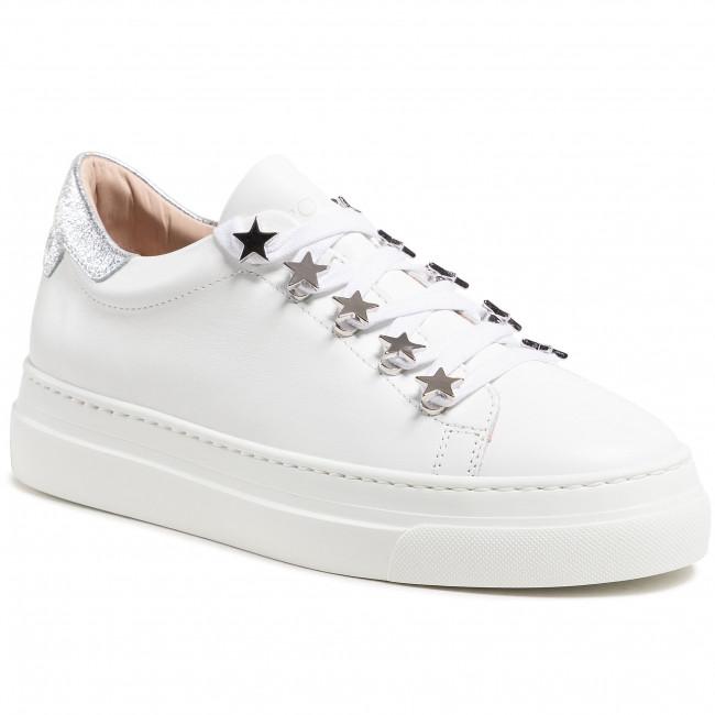 Sneakersy STOKTON - 797-D-SS21 Vitello Bianco/Argento