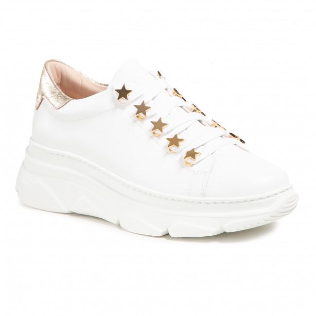 Sneakersy STOKTON - 797-D-SS21 Vitello Bianco/Acc Oro