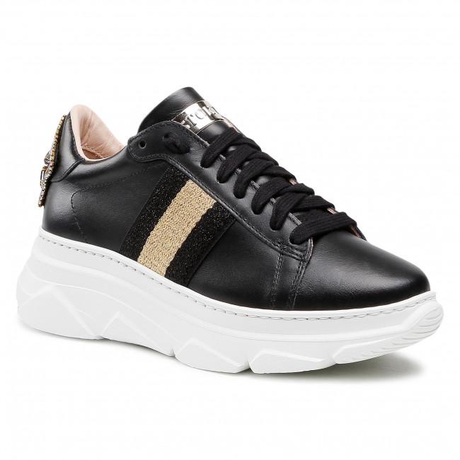 Sneakersy STOKTON - 807-D Nero/Nero/Platinuum