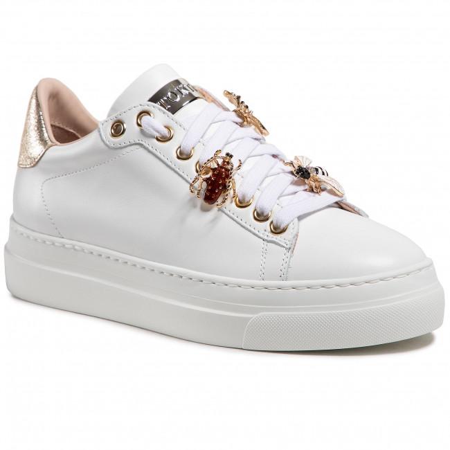 Sneakersy STOKTON - 857-D-SS21 Vitello Bianco