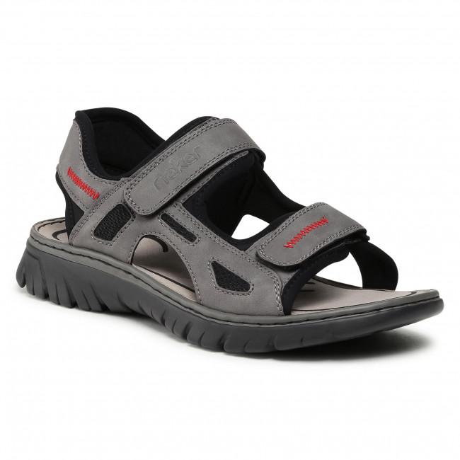 Sandále RIEKER - 26752-42 Grau