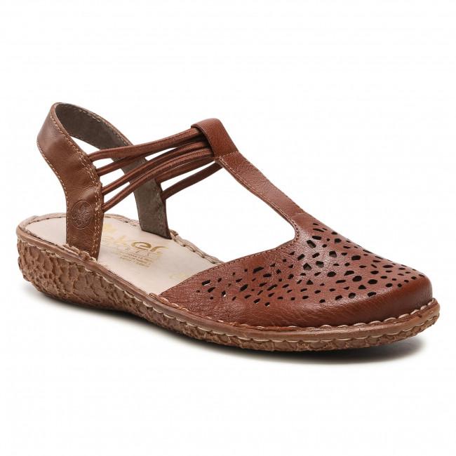 Sandále RIEKER - M0976-22 Brown