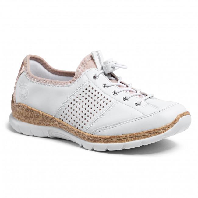 Sneakersy RIEKER - N42G8-80 Weiss