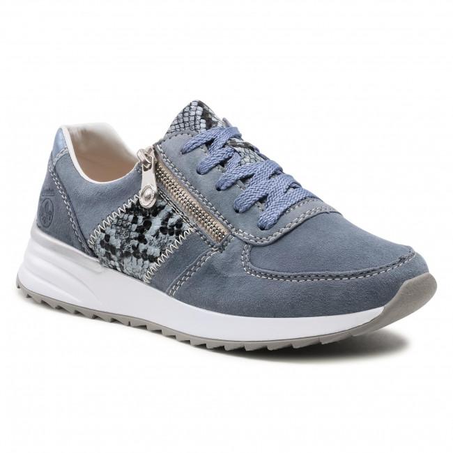 Sneakersy RIEKER - N8024-10 Blau