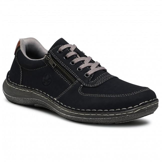 Sneakersy RIEKER - 03030-14 Blau