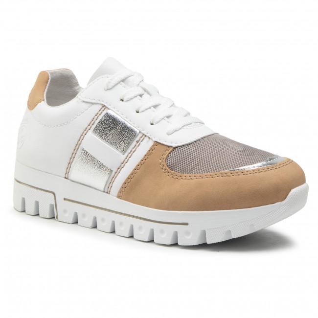 Sneakersy RIEKER - L2802-62 Weiss Kombi
