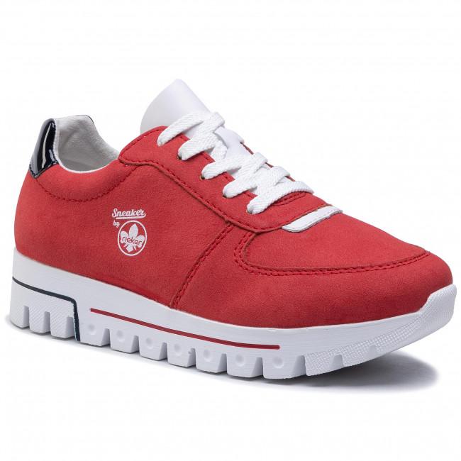 Sneakersy RIEKER - L2838-33 Red
