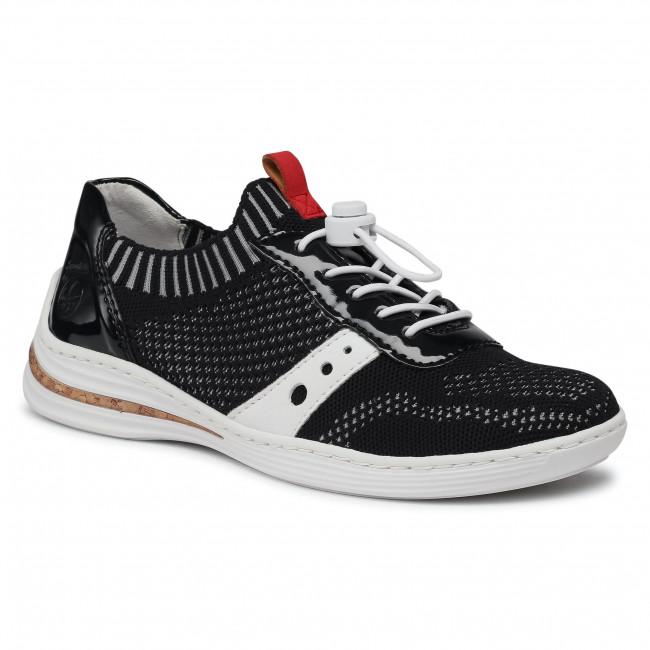 Sneakersy RIEKER - M3575-14 Blau