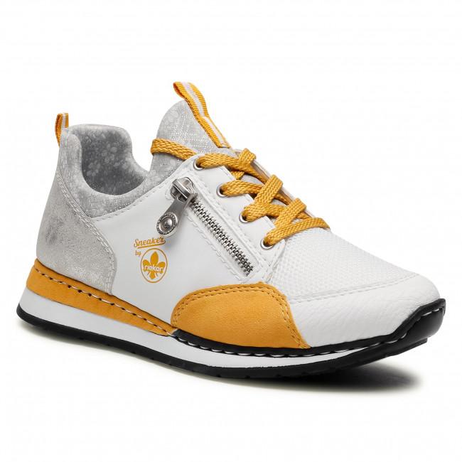 Sneakersy RIEKER - N3081-80 Weiss