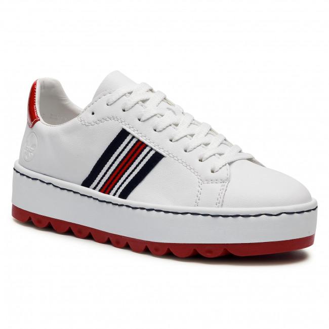 Sneakersy RIEKER - N4622-81 Weiss