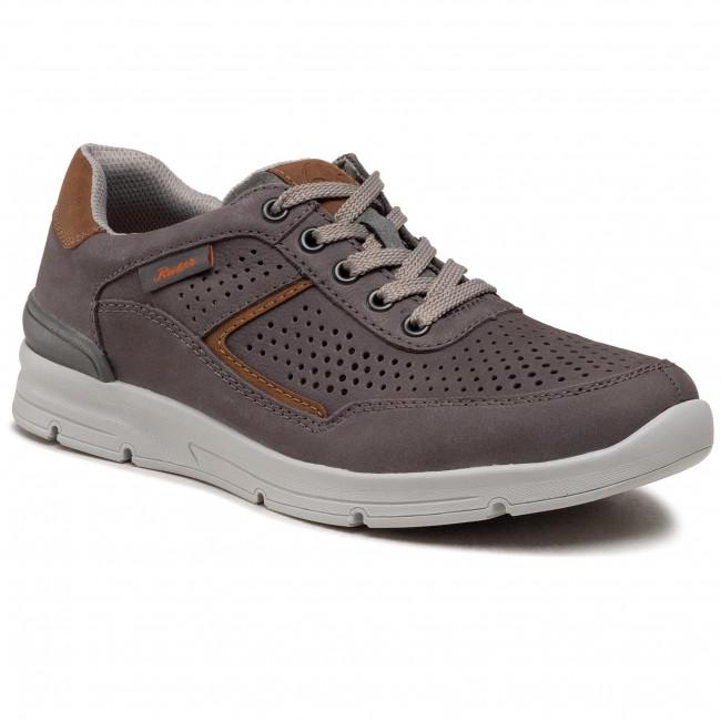 Sneakersy RIEKER - 16425-40 Grau