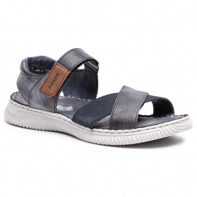 Sandále RIEKER - 28160-14 Blau