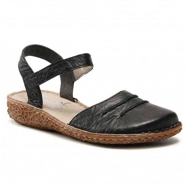 Sandále RIEKER - M0954-00 Schwarz