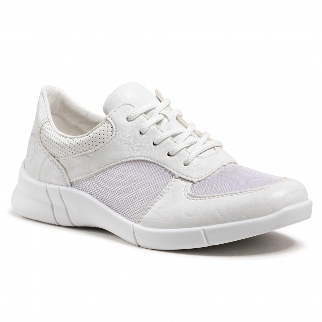 Sneakersy RIEKER - N2100-80 Weiss