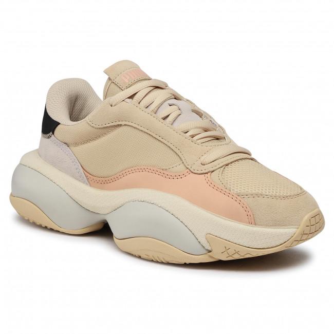 Sneakersy PUMA - Alteration Premium Leather 371597 2 Pebble/Pink Sand