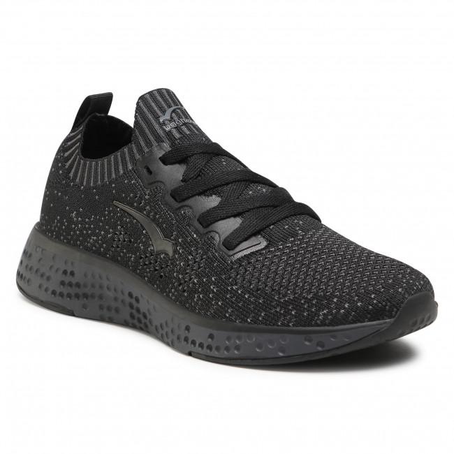 Sneakersy BAGHEERA - Destiny 86477-58 C0102 Black/Dark Grey