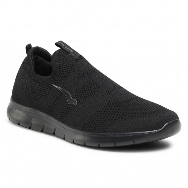Sneakersy BAGHEERA - Pace 86496-2 C0102 Black/Dark Grey