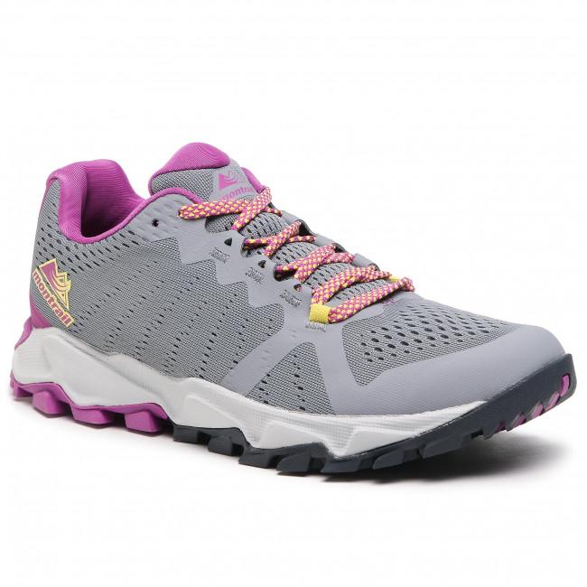 Trekingová obuv COLUMBIA - Trans Alps™ F.K.T. III BL0107 Grey Ash/Berry Jam