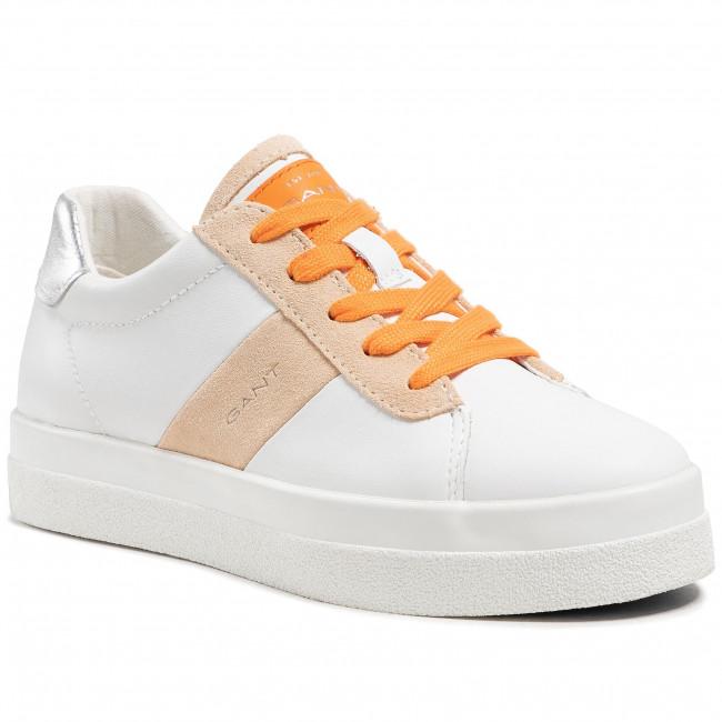 Sneakersy GANT - Avona 22531533 Br. Wht./Maca. Beige G287