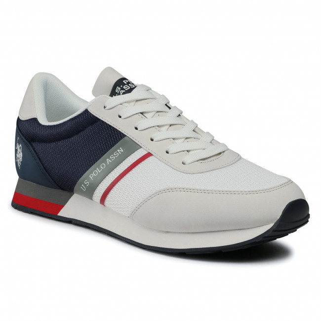 Sneakersy U.S. POLO ASSN. - Brandon2 WILYS4127S0/MY2 Whi/Navy