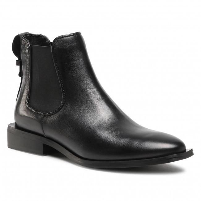 Kotníková obuv s elastickým prvkom CARINII - B5731 E50-000-000-D98