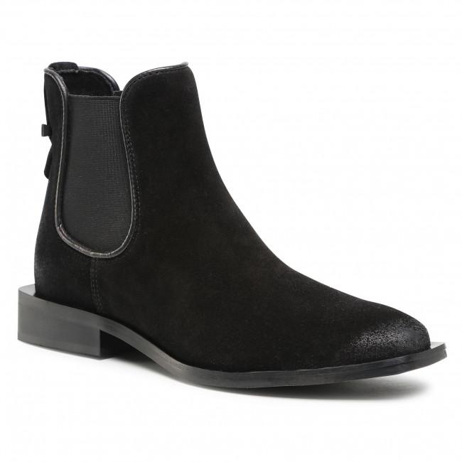 Kotníková obuv s elastickým prvkom CARINII - B5731 H20-E50-000-D98