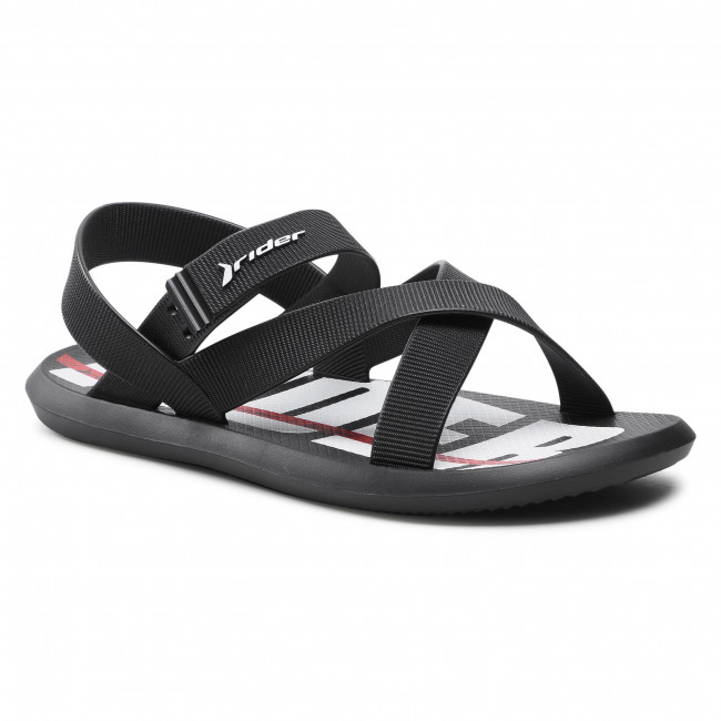 Sandále RIDER - R1 Papete Ad 11566 Black/White 21194