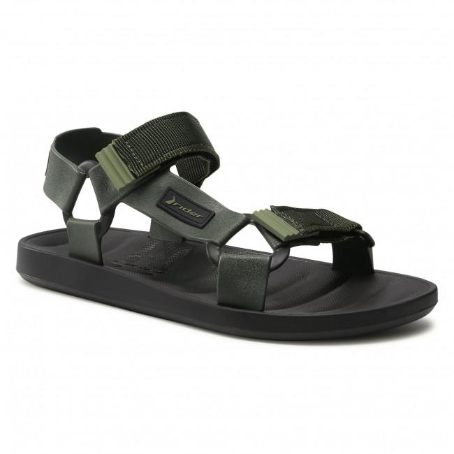 Sandále RIDER - Free Papete Ad 11567 Black/Green 20754