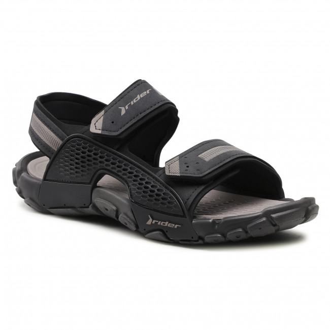 Sandále RIDER - Tender XII Ad 83065 Black/Black/Grey 02065