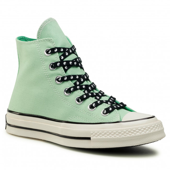 Tramky CONVERSE - Chuck 70 Hi 164210C  Aphid Green/Black