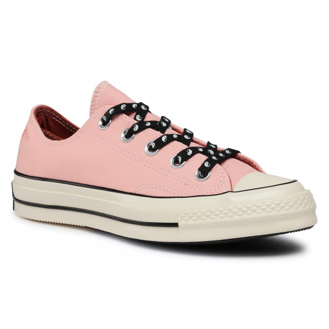 Tramky CONVERSE - Chuck 70 Ox 164212C  Bleached Coral/Dous