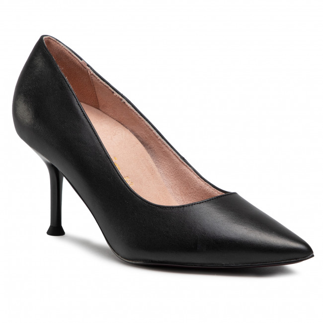 Lodičky TAMARIS - 1-22402-26 Black Leather 003