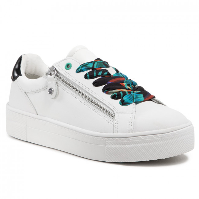 Sneakersy TAMARIS - 1-23312-26 White/Black 125