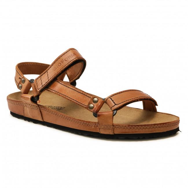 Sandále NIK - 06-0084-01-9-02-03 Hnedá