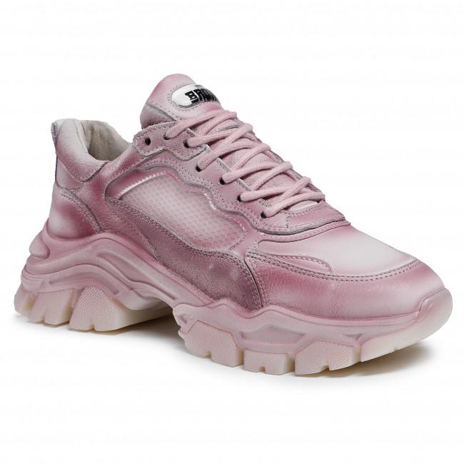 Sneakersy BRONX - 66366-AF Vintage Pink 3430