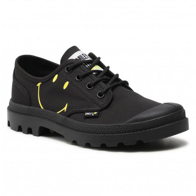 Outdoorová obuv PALLADIUM - Ox Be Kind U 77080-008-M Black/Black