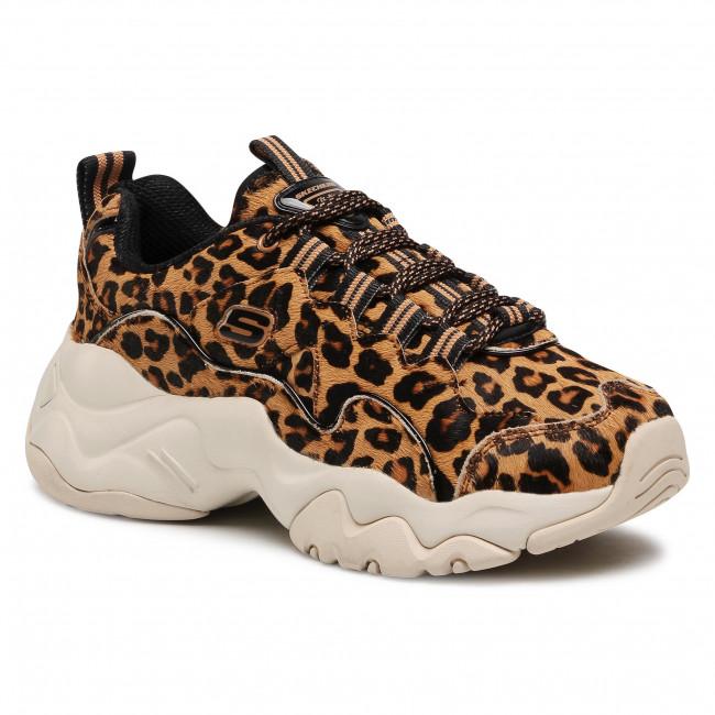 Sneakersy SKECHERS - D'lites Jungle Fashion 13427/LPD  Leopard